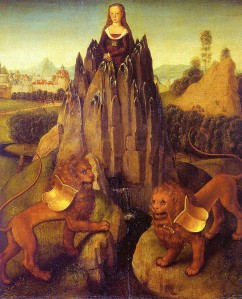 Allegory of Chastity, Hans Memling 1475